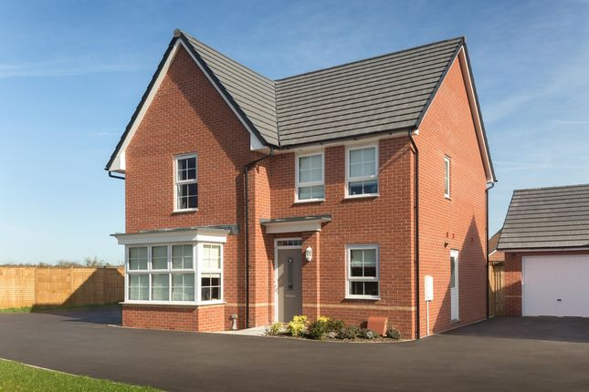 "Thumbnail Detached house for sale in ""Cambridge"" at Gilhespy Way, Westbury"
