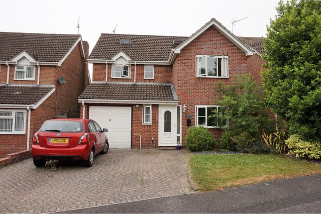 Thumbnail Detached house for sale in Gullycroft Mead, Hedge End
