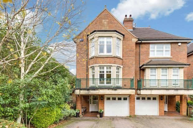Thumbnail End terrace house for sale in Mountview Close, Golders Hill Park, London