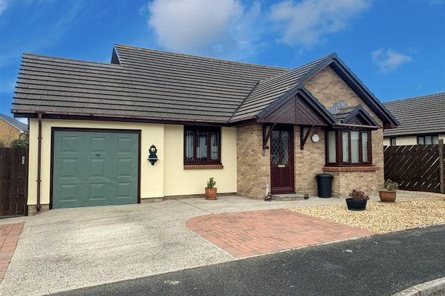 Thumbnail Detached bungalow for sale in Kingsmere Close, Haverfordwest