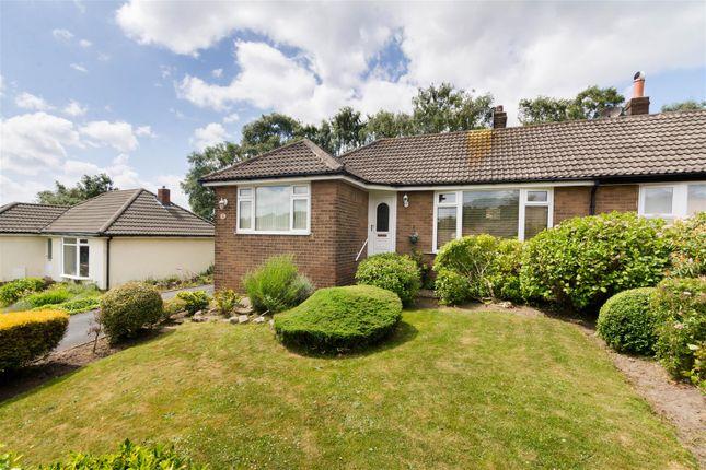 Thumbnail Semi-detached bungalow for sale in Moseley Wood Crescent, Cookridge, Leeds
