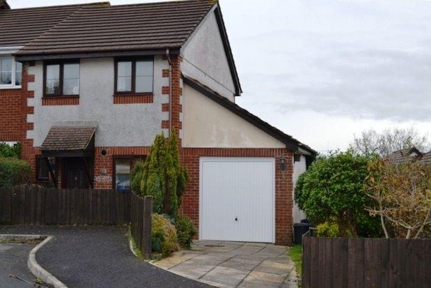 Thumbnail Semi-detached house to rent in Tom Lyon Road, Liskeard