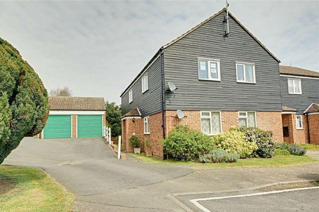 3 bed flat for sale in Leat Close, Sawbridgeworth, Hertfordshire CM21