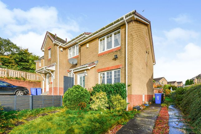 Thumbnail Semi-detached house for sale in Perrays Drive, Dumbarton