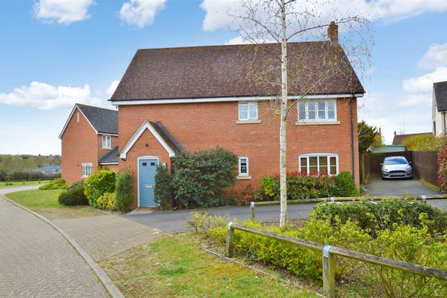 Thumbnail Detached house for sale in Alderton Close, Haverhill