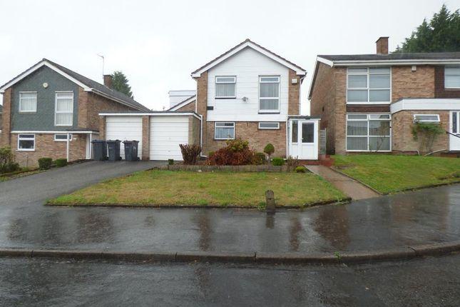 Thumbnail Detached house to rent in Norwich Drive, Harborne, Birmingham
