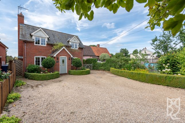 Thumbnail Detached house for sale in White Horse Road, East Bergholt, Essex