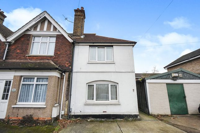 Thumbnail Property for sale in West View Road, Swanley