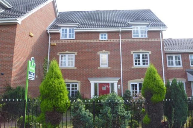 Thumbnail Terraced house to rent in Tiber Road, North Hykeham, Lincoln