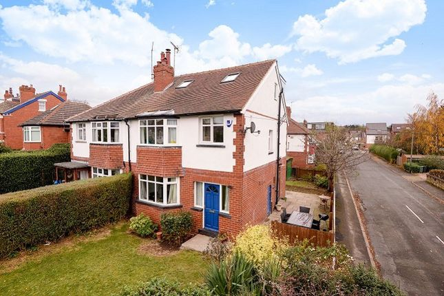 Thumbnail Semi-detached house to rent in Lidgett Lane, Roundhay, Leeds