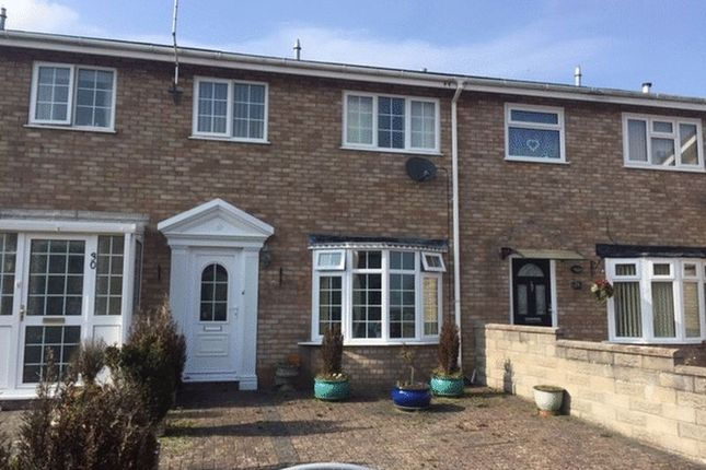 Thumbnail Terraced house for sale in Crawshay Drive, Boverton, Llantwit Major