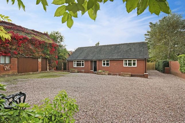 Thumbnail Detached bungalow for sale in Prospect Road, Market Drayton