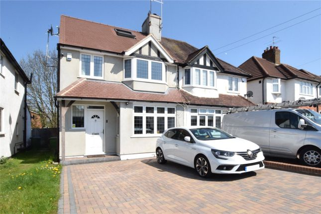 Thumbnail Semi-detached house for sale in Goodwood Avenue, Watford, Hertfordshire