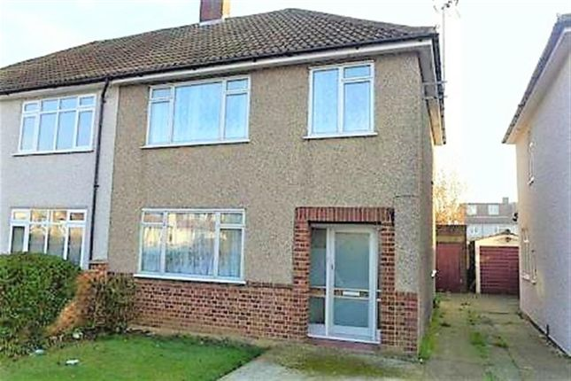 Thumbnail Semi-detached house to rent in Bedonwell Road, Bexleyheath, Kent