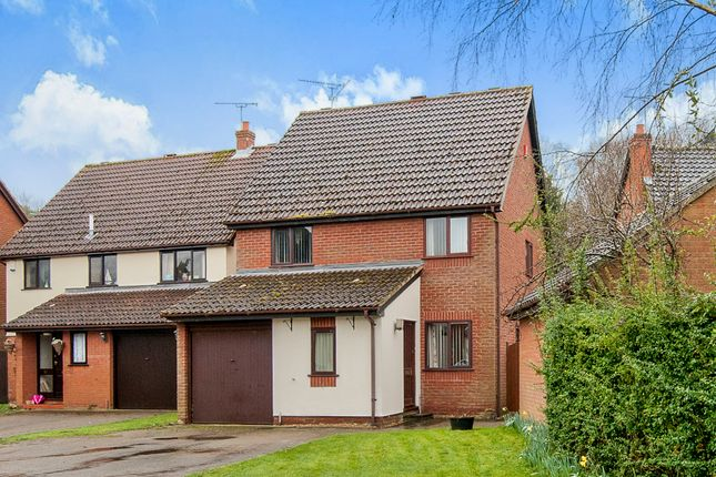 Thumbnail Detached house for sale in Impson Way, Mundford, Thetford
