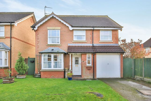 Thumbnail Detached house for sale in Webster Way, Gonerby Hill Foot, Grantham