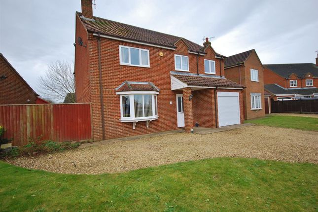 Thumbnail Detached house for sale in The Paddocks, Gedney, Spalding