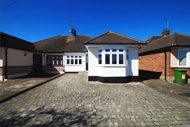 Thumbnail Bungalow for sale in Canterbury Avenue, Upminster