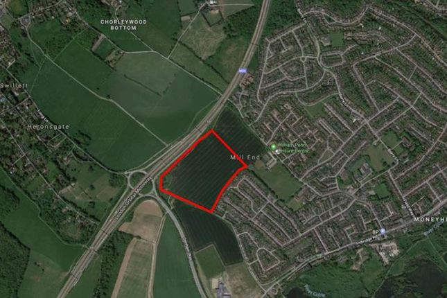 Thumbnail Commercial property for sale in Land At Mill End, Long Lane, Rickmansworth, Hertfordshire