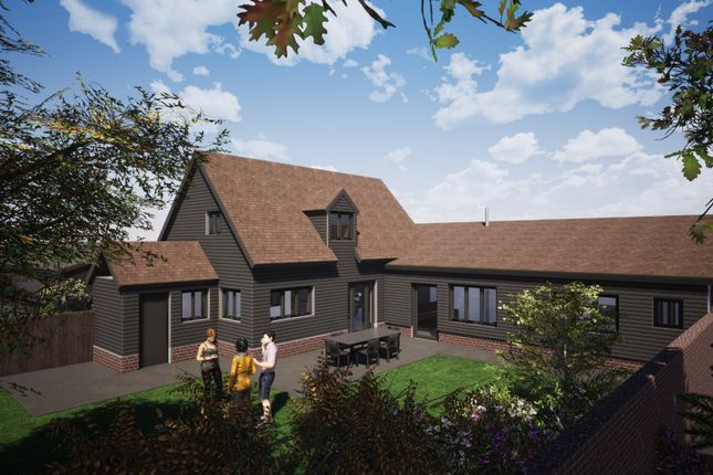 Thumbnail Barn conversion for sale in Woolpit, Bury St Edmunds, Suffolk