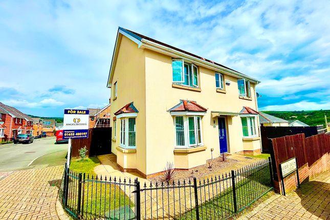 Thumbnail Detached house for sale in Hanbury Grove, Pontypool