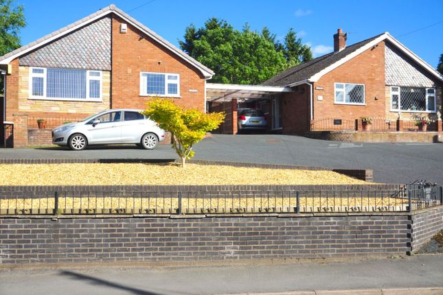 Thumbnail Detached bungalow for sale in New Road, Telford