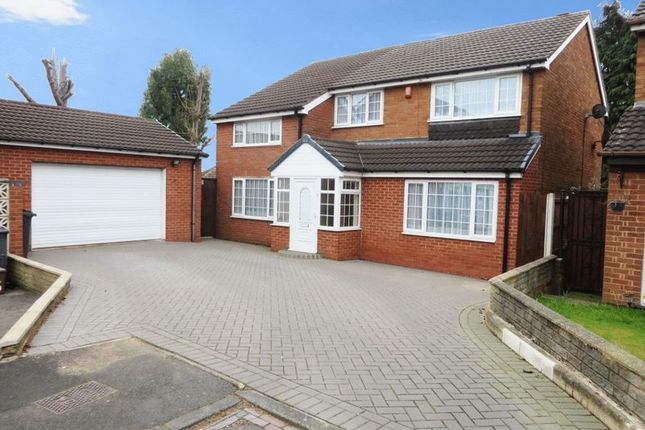 Thumbnail Detached house for sale in Payton Close, Oldbury