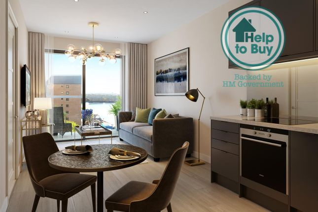 1 bed flat for sale in Dock East, Canary Wharf E14