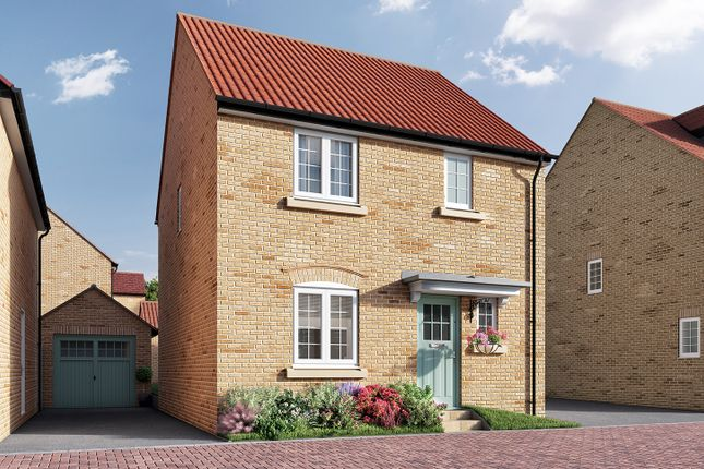 "Thumbnail Detached house for sale in ""The Elliot"" at Isemill Road, Burton Latimer, Kettering"