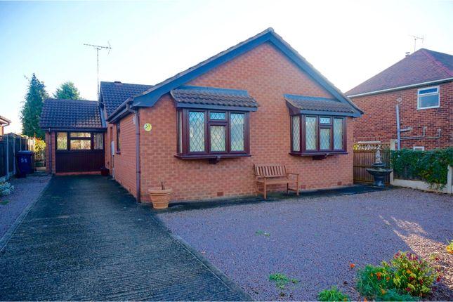 Thumbnail Detached bungalow for sale in Bakestone Moor, Worksop