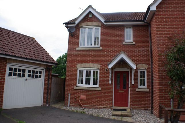 Thumbnail Semi-detached house to rent in Abbotsmead, Heybridge, Maldon