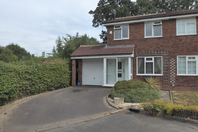 Thumbnail Semi-detached house for sale in Open Field Close, Birmingham