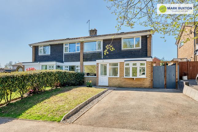 Thumbnail Semi-detached house for sale in Gallowstree Lane, Newcastle Under Lyme