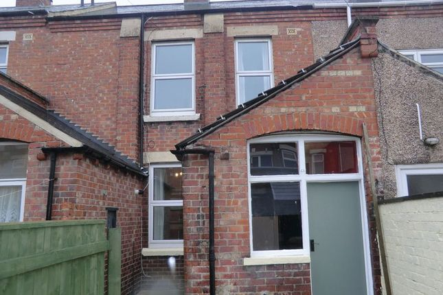 Thumbnail Terraced house to rent in Salisbury Street, Blyth