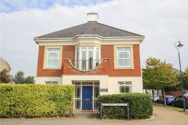 Thumbnail Detached house for sale in Dettingen Crescent, Deepcut, Camberley, Surrey