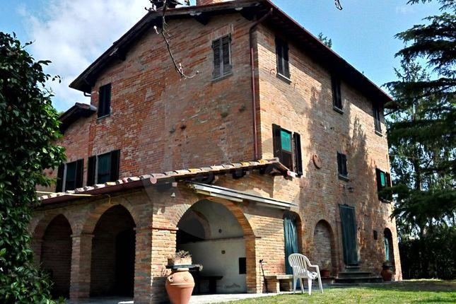 Facade of Via Ponte Al Ramo, Foiano Della Chiana, Arezzo, Tuscany, Italy