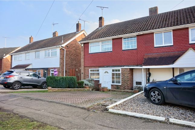 Thumbnail Semi-detached house for sale in The Four Acres, Sawbridgeworth