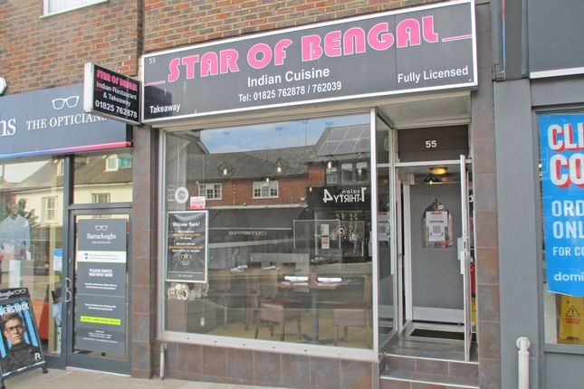 Thumbnail Restaurant/cafe to let in 55, High Street, Uckfield