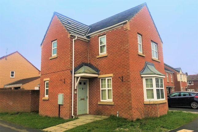 Thumbnail Detached house to rent in Grangemoor Close, Darlington