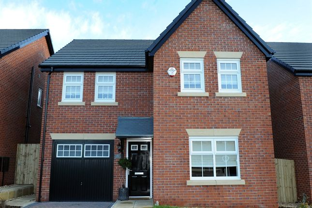 "Thumbnail Detached house for sale in ""Keating "" at D'urton Lane, Broughton, Preston"