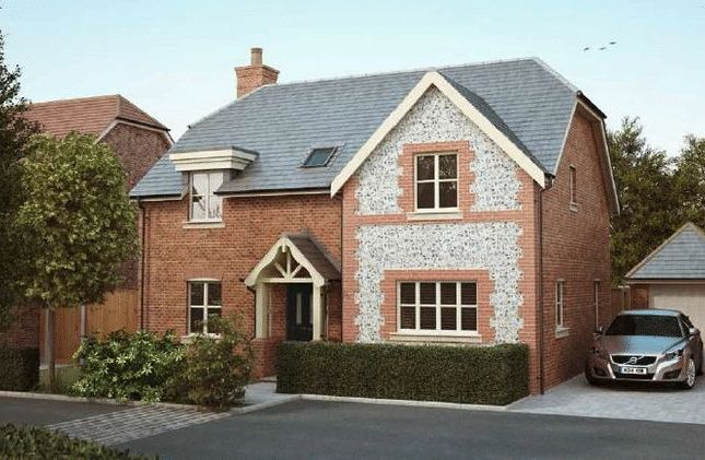 Thumbnail Detached house for sale in Long Copse Lane, Westbourne, Emsworth