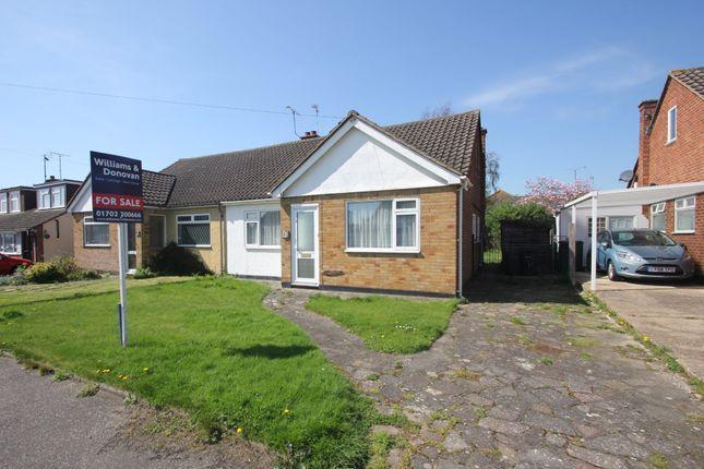 Thumbnail Semi-detached bungalow for sale in The Bramleys, Ashingdon, Rochford
