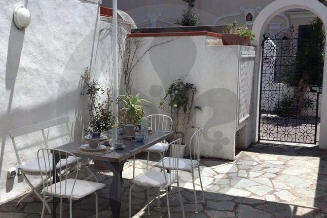 Terrace of Via Marina Piccola, Capri, Naples, Campania, Italy