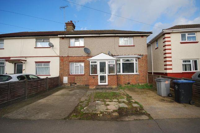 Thumbnail Semi-detached house for sale in Lyon Park Avenue, Wembley, Middlesex