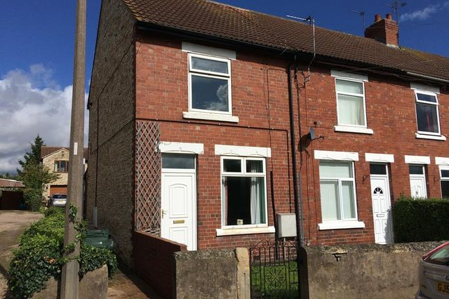 Thumbnail End terrace house for sale in 4 West End Road, Doncaster, South Yorkshire
