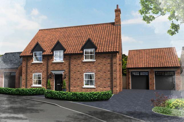 Thumbnail Detached house for sale in Plot 24, Hill Place, Brington, Huntingdon