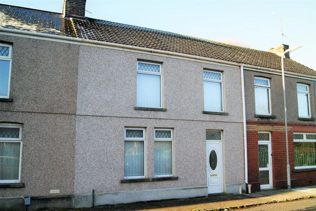Thumbnail Terraced house for sale in Pendarvis Terrace, Aberavon, Port Talbot