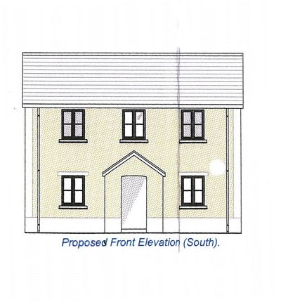 Thumbnail Detached house for sale in Opposite 265, Cwmamman Road, Glanamman, Ammanford, Carmarthenshire.