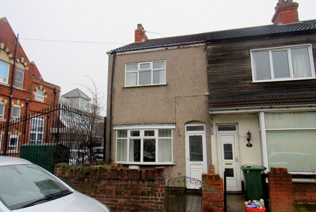 Thumbnail End terrace house to rent in Elliston Street, Cleethorpes