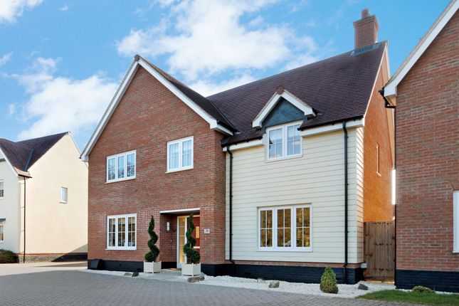 Thumbnail Detached house for sale in Hogarth Court, Sible Hedingham, Halstead, Essex